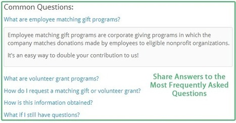 AOL Inc. Matching Gifts and Volunteer Grant Information | Global examples of corporate volunteering & workplace giving | Scoop.it