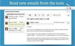 Comment être prévenu de l'arrivée de nouveaux messages dans Gmail - Les Outils Google | Les outils du Web 2.0 | Scoop.it