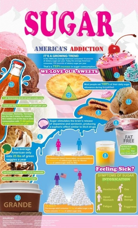 Sugar Infographic | Healthy Fat Loss | Scoop.it