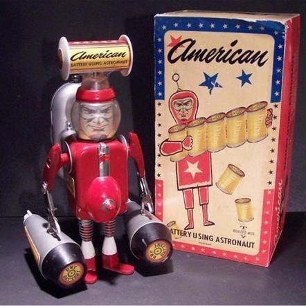 Toys by Randy Regier   Vintage, Robots, Photos, Pub, Années 50   Scoop.it