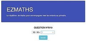 EZMaths : exerciseur arithmétique sur mesure pour le primaire | Ressources d'apprentissage gratuites | Scoop.it
