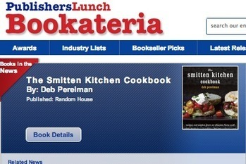 Publishers Lunch opens online bookstore, Bookateria | School Books | Scoop.it