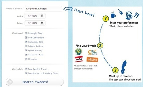 After letting locals run the Twitter account, VisitSweden now wants visitors to meet them | Tnooz | eTourism Trends and News | Scoop.it