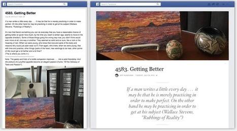 Facebook Notes est officiellement lancée en tant que plateforme de blogs | Social Media Curation par Mon Habitat Web | Scoop.it