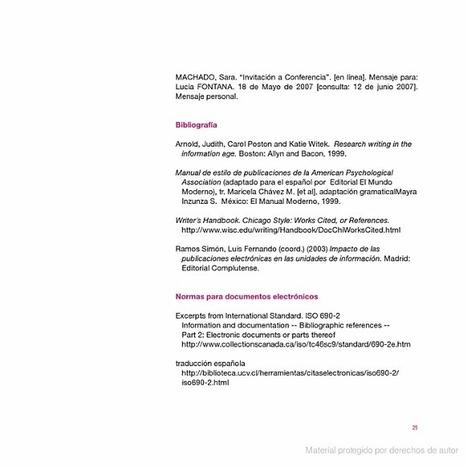 La cita documental 2° edición | Investigación Educativa | Scoop.it