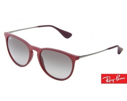 Ray-Ban Erika Round Matte Red Sunglasses (0RB4171) | Daily Shopping Deals | Scoop.it