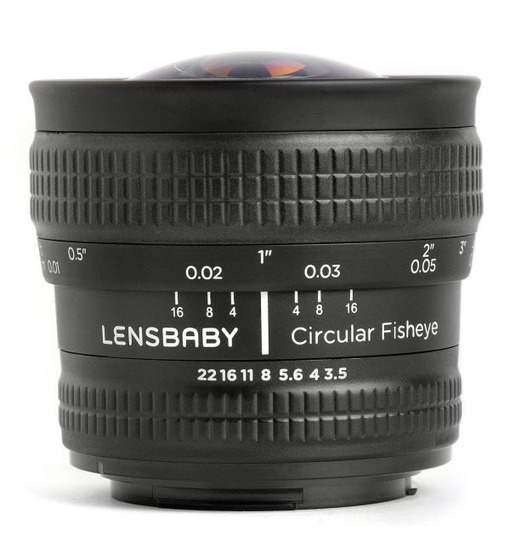 Circular Fisheye lens from Lensbaby Now Available