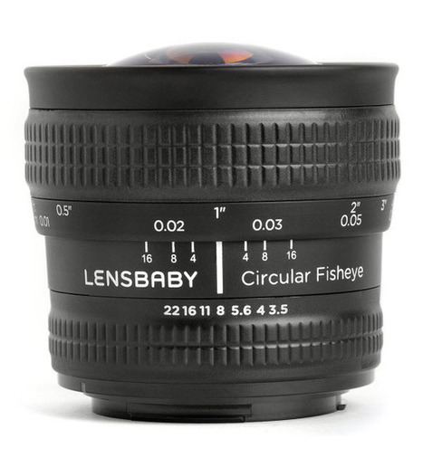 Circular Fisheye lens from Lensbaby Now Available | HDSLR | Scoop.it