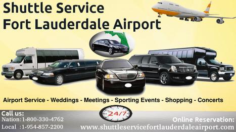 Book Most luxurious Shuttle Cars in Fort Lauderdale   shuttleservicefortlauderdaleairport   Scoop.it