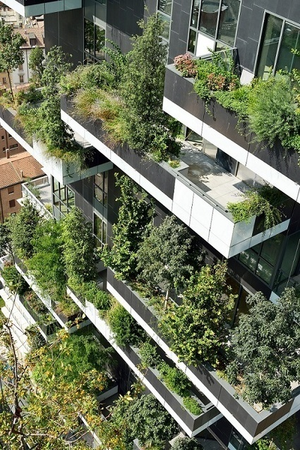Il Bosco Verticale di Stefano Boeri vince l'International Highrise Award 2014 | Green and Smart Living | Scoop.it