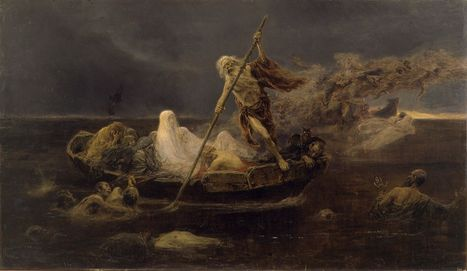 Charon, Kharon,  The ferryman | They were here and might return | Scoop.it
