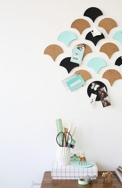 3 DIY colorés (et pas chers) autour du liège | décoration & déco | Scoop.it