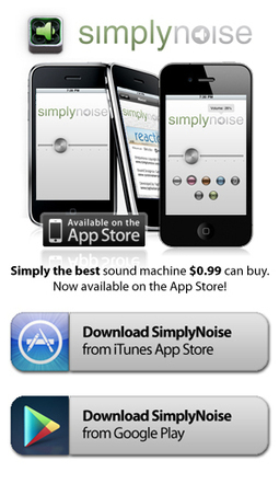 SimplyNoise -- The Best Free White Noise Generator on the Internet.   Noise and Sound   Scoop.it