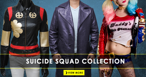 Suicide Squad Costumes and Jackets | celebrities Leather Jackets | Scoop.it