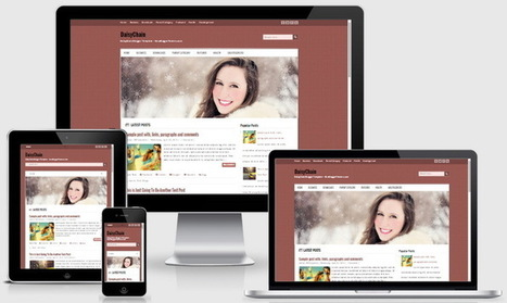 DaisyChain Blogger Template | Blogger themes | Scoop.it