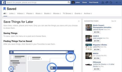 Quand Facebook est également un outil de veille | Web information Specialist | Scoop.it