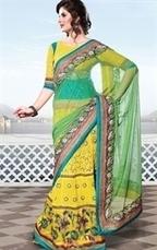 IndianWardrobe has Designer Bridal–Wedding Lehenga Style Sarees Online | Indian Wardrobe | Scoop.it