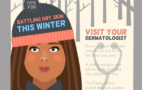 Visualistan: Tips For Battling Dry Skin This Winter [Infographic] | Health | Scoop.it