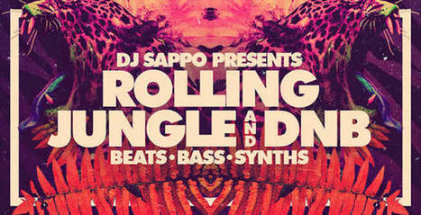 DJ Sappo Presents Rolling Jungle and DnB Sample Pack | Bit of Everything, Music, Movies, News, Alt | Scoop.it