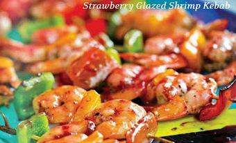 Recetas de Cocina y Reposteria!!!: Strawberry glazed shrimp kebab | #DIRCASA - El Buen Comer!!!! | Scoop.it