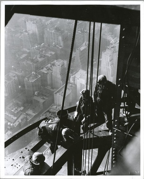 24 Jaw-Dropping Photos Of The Construction Of The Empire State Building | Architecture - Construction | Scoop.it