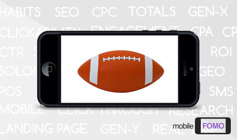 Mixing Mobile with TV: Leveraging Second-Screen Engagement for the Super Bowl | Business Admin | Scoop.it