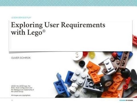 Exploring User Requirements with Lego® | #LSP | Scoop.it