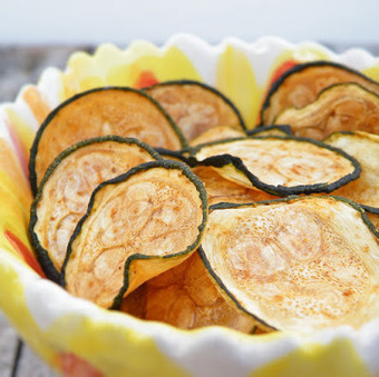 Vittles and Bits: Baked Zucchini Chips | Healthy Meals | Scoop.it