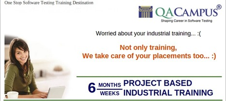 6 Months Industrial Training Program | Software Testing Institute | Scoop.it