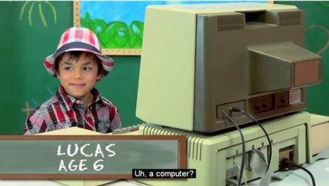 Cómo reaccionan los niños frente a ordenadores viejos | Techno educación | Scoop.it