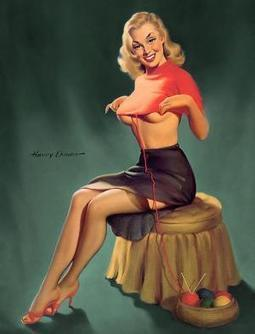 Harry Ekman Vintage Pin Ups | 1950's | Scoop.it