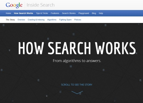 Les dessous de la recherche [Infographie Interactive] | Outils pour le web, mediation, formation... | Scoop.it