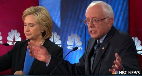Presidential hopefuls Bernie #Sanders and #greed puppet #Hillary #Clinton in dead heat nationally: poll | USA the second nazi empire | Scoop.it