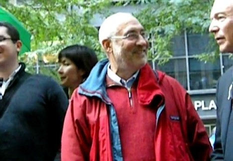 Joseph Stiglitz and Lawrence Lessig at Occupy Wall Street | Internet of the absurd | Scoop.it