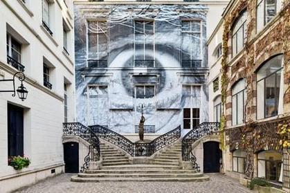 JR fait salle comble à Beaubourg - Le Figaro | Street Art | Scoop.it