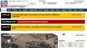 Fox News website claims zombies are coming after internal error - Los Angeles Times | Fails | Scoop.it