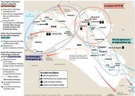 « L'Etat islamique à Palmyre, c'est l'Etat islamique dans la cour du Louvre » | Revue de presse 1e | Scoop.it