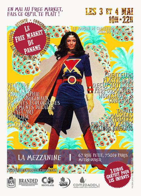 Free Market de Paname : On sait où vous serez ce week-end ! | Aufeminin | Scoop.it