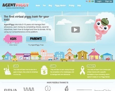 Agent Piggy – Teaching Kids About Money « AppVita   Better teaching, more learning   Scoop.it