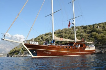 Tanem H Gulet 6 cabins 12 person 30m Gulet Bodrum boat charter | Travel in Turkey | Scoop.it
