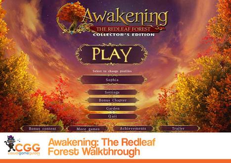 Awakening: The Redleaf Forest Walkthrough: From CasualGameGuides.com | Casual Game Walkthroughs | Scoop.it