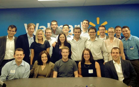 Zuckerberg's Facebook Picture Hints at Walmart Partnership | Transformations in Business & Tourism | Scoop.it