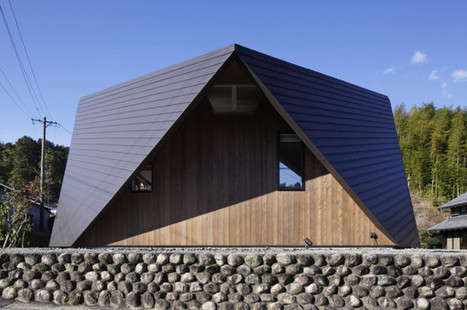 A House with an Origami-Like Roof | JOIN SCOOP.IT AND FOLLOW ME ON SCOOP.IT | Scoop.it