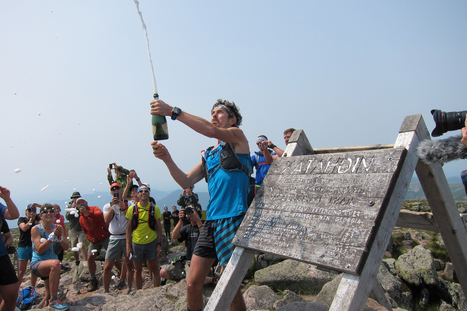 Scott Jurek Celebrates a New Appalachian Trail Thru-Hike Speed Record - Runner's World Newswire | Fitness, Health, Running and Weight loss | Scoop.it