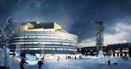 Kiruna City Hall in Northern Sweden by Henning Larsen Architects | The Architecture of the City | Scoop.it