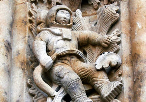 Controversy On Modern Astronaut Figure Carved In A 300-Year-Old Cathedral - Latest UFO Sightings   Aliens   Scoop.it