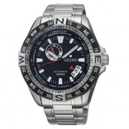 Seiko Superior Automatic Date Display Black Dial Watch Model - SSA095J1 Price: Buy Seiko Superior Automatic Date Display Black Dial Watch Model - SSA095J1 Online at Best Price in Australia | Direct... | Direct Bargains Watch | Scoop.it