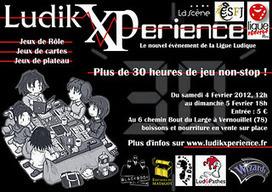 Sartrouville Figurines et Jeux: La LudikXPerience : 30h de jeu non stop ! | Jeux de Rôle - JDR | Scoop.it