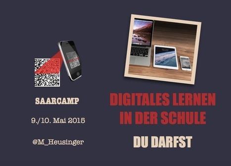 Digitales Lernen in der Schule - du darfst! | Willkommen auf der Homepage von Monika Heusinger-Lahn | eTwinning me | Scoop.it