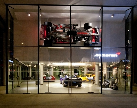 McLaren windows 2014 Spring, London » Retail Design Blog | Retail Design | Scoop.it